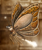 Steampunk Butterfly